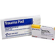 First Aid Only Trauma Dressing Pad