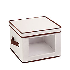 Honey Can Do Canvas Dinnerware Storage