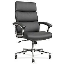 Lorell Leather High back Chair Bonded