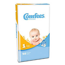 Attends Comfees Baby Diapers Size 1