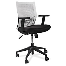 Lorell Flex Back Task Chair WhiteWhite