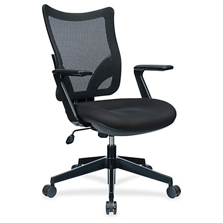 Lorell S 8 Mesh Back Task Chair Black By Office Depot OfficeMax