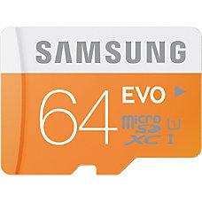 Samsung MicroSD EVO Memory Card 64GB