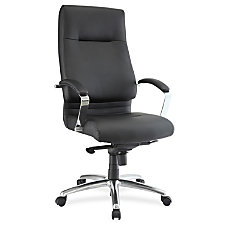 Lorell Modern Exec High back Leather