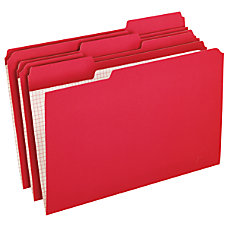 Pendaflex Reinforced Color Folders With Interior