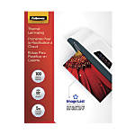 Fellowes Clear Laminating Pouches 9 x