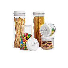 Orbit 5 Piece Food Storage Jar