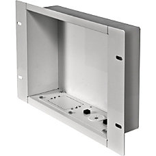 Peerless AV Recessed Cable Management and