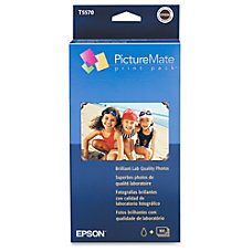 Epson T5570 PictureMate Print Pack Multicolor
