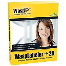 Wasp Labeler 2D Complete Product Unlimited