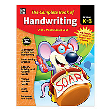 Thinking Kids Complete Book Of Handwriting