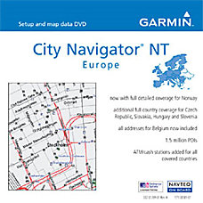 Garmin City Navigator NT Europe v90