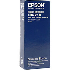 Epson ERC 27B Black Nylon Printer