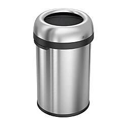 simplehuman Bullet Open Trash Can 30