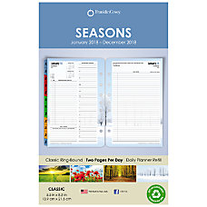 FranklinCovey Seasons Appointment BookPlanner Refill 5