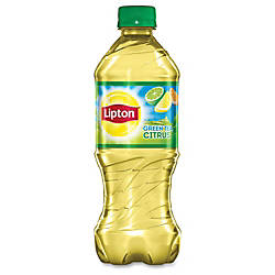 Lipton Pepsico Citrus Green Tea Bottle