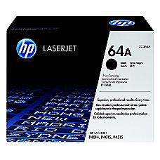HP 64A Black Original Toner Cartridge