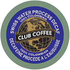 Club Coffee AromaCups Swiss Water Decaffeinated