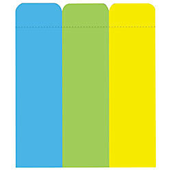 avery removable adhesive label pad 1 x 3 assorted neon colors - Avery Colored Labels