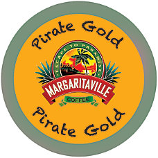Margaritaville Coffee AromaCups Pirate Gold Single