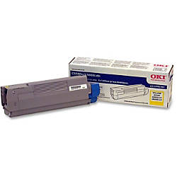 OKI 43381901 Yellow Toner Cartridge