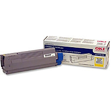 OKI 43381901 Yellow Toner Cartridge