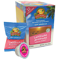 Margaritaville Coffee AromaCups Lattitude Attitude Single