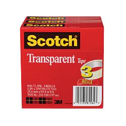 Scotch Transparent Tape 3 Core 1