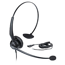 Yealink YHS32 Call Center Headset Black