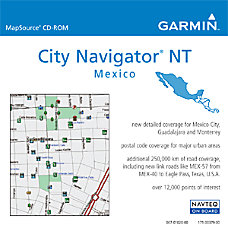 Garmin City Select Mexico NT Digital