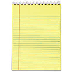 TOPS Docket Perforated Wirebound Legal Pads
