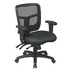 Office Star ProGrid Mid Back Mesh