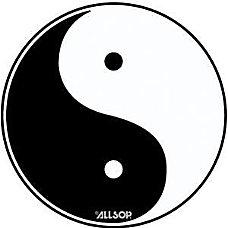 Allsop Yin Yang Slimline Mouse Pad