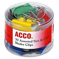 Acco Binder Clips Reusable Rust Resistant
