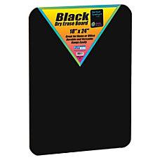 Flipside Black Dry Erase Board 18