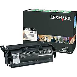 Lexmark T650A11A Return Program Black Toner