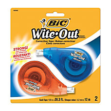 BIC Wite Out EZ Correct Correction