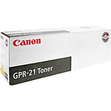 Canon LaserJet GPR 21 0259B001AA Yellow