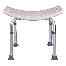 HealthSmart Compact Shower Bench 21 H