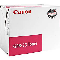 Canon GPR 23 0454B003AA Magenta Toner