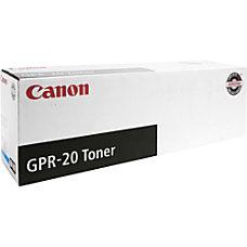 Canon GPR 20 Cyan Toner Cartridge