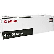 Canon GPR 20 1069B001AA Black Laser