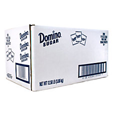 Domino Sugar Packets Box Of 2000
