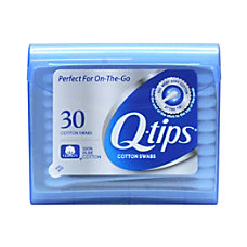 Q tips Cotton Swabs Travel Pack