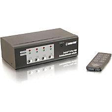 C2G TruLink 4 Port UXGA Monitor