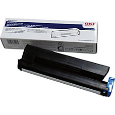 Oki Black Toner Cartridge Black LED