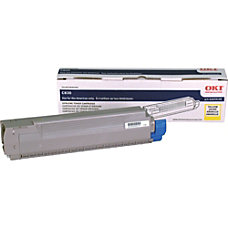 Oki Data 44059109 Yellow Toner Cartridge