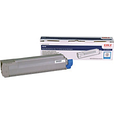 Oki Type C14 Cyan Toner Cartridge