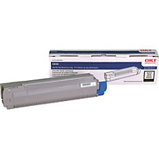 Oki Type C14 Black Toner Cartridge