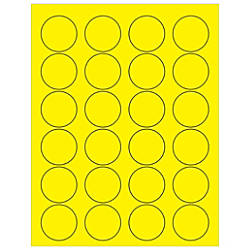 Office Depot Brand Labels Circle 1